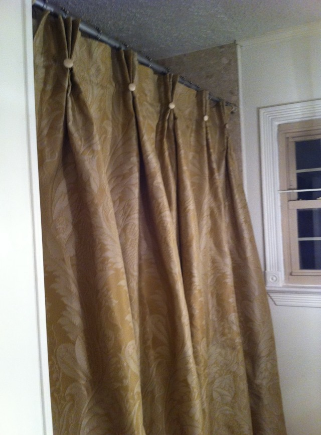 Custom Made Shower Curtain
