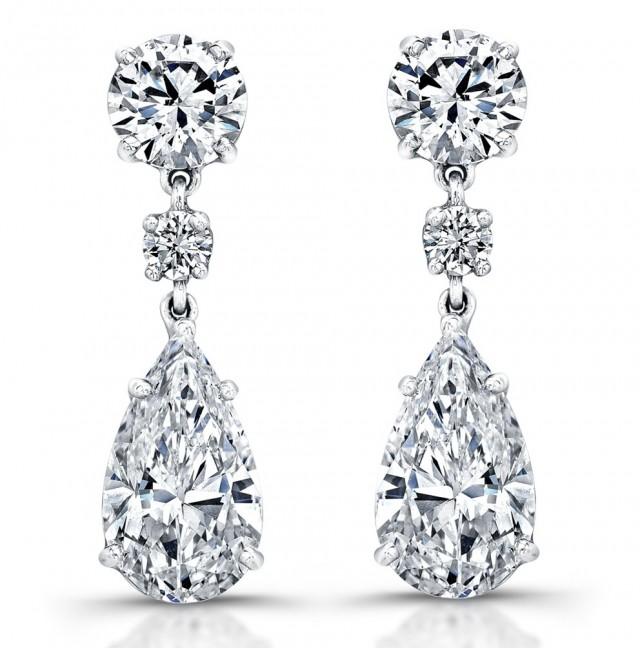 Diamond Chandelier Earrings Designs