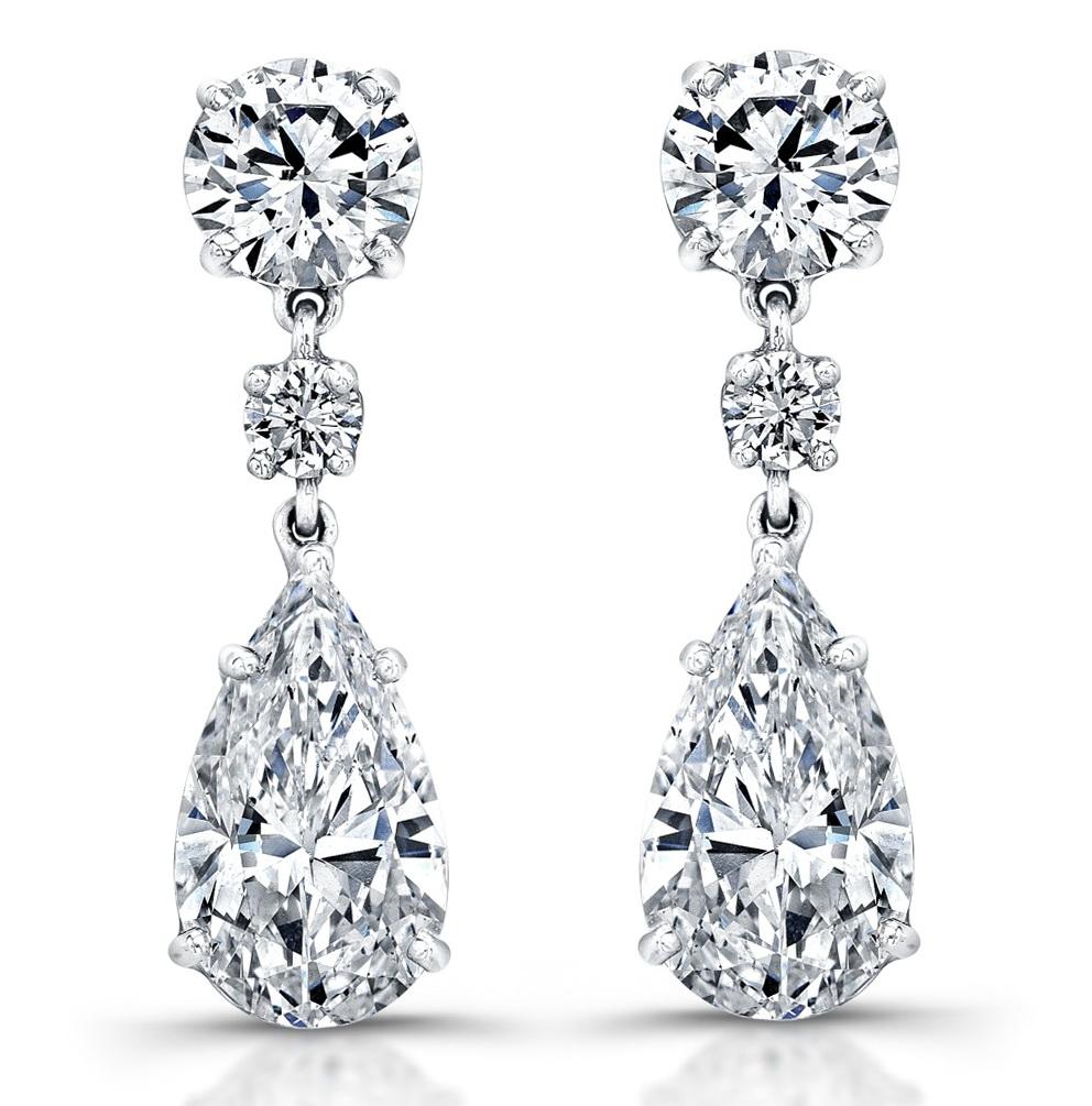 Diamond chandelier earrings designs home design ideas for Home design diamonds