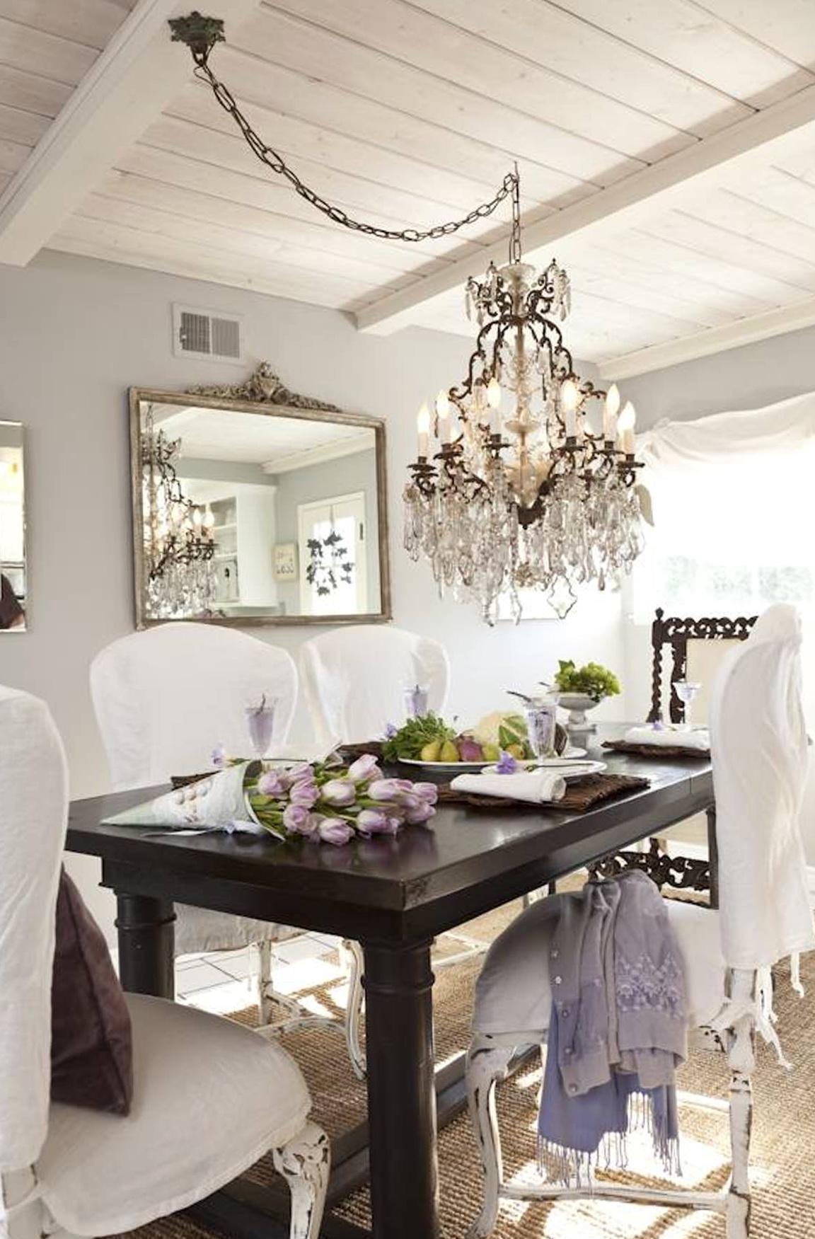 Dining Room Crystal Chandelier Lighting
