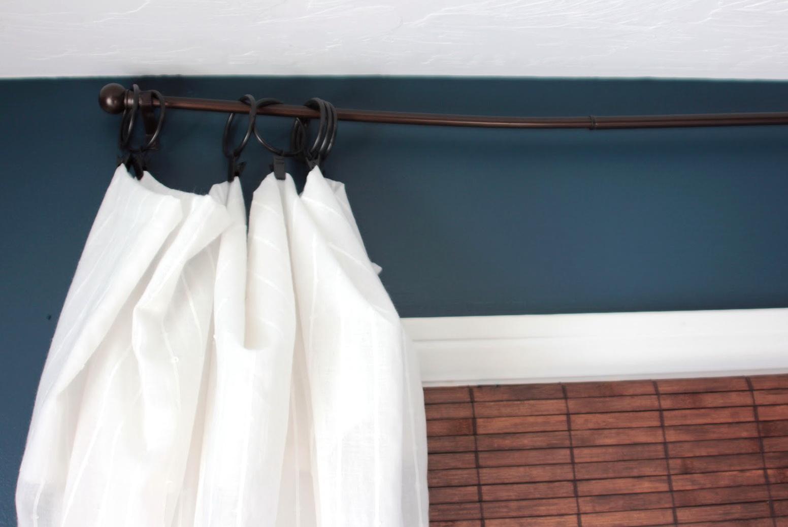 Diy Long Curtain Rod Home Design Ideas