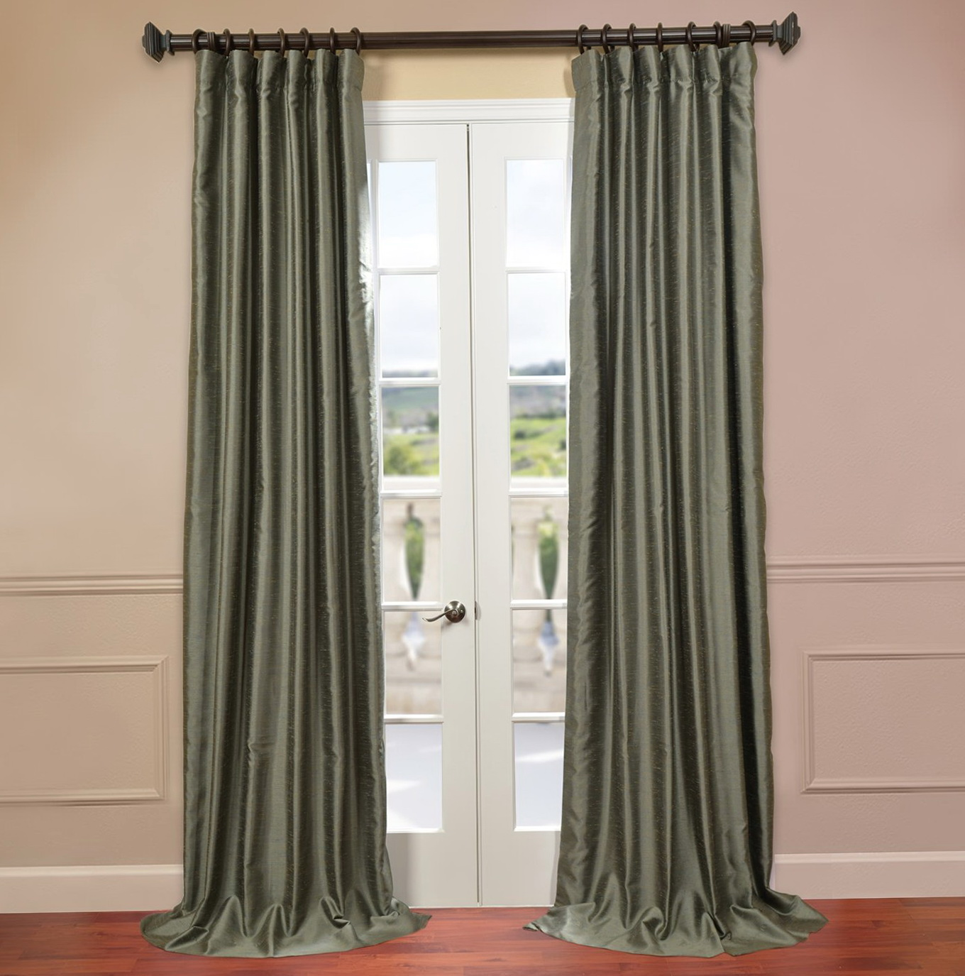 Dupioni Silk Curtains 108