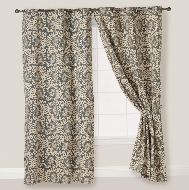 Dupioni Silk Curtains India