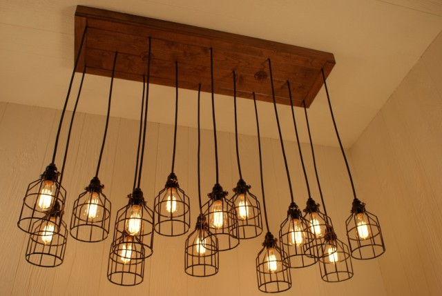 Edison Light Bulb Chandelier