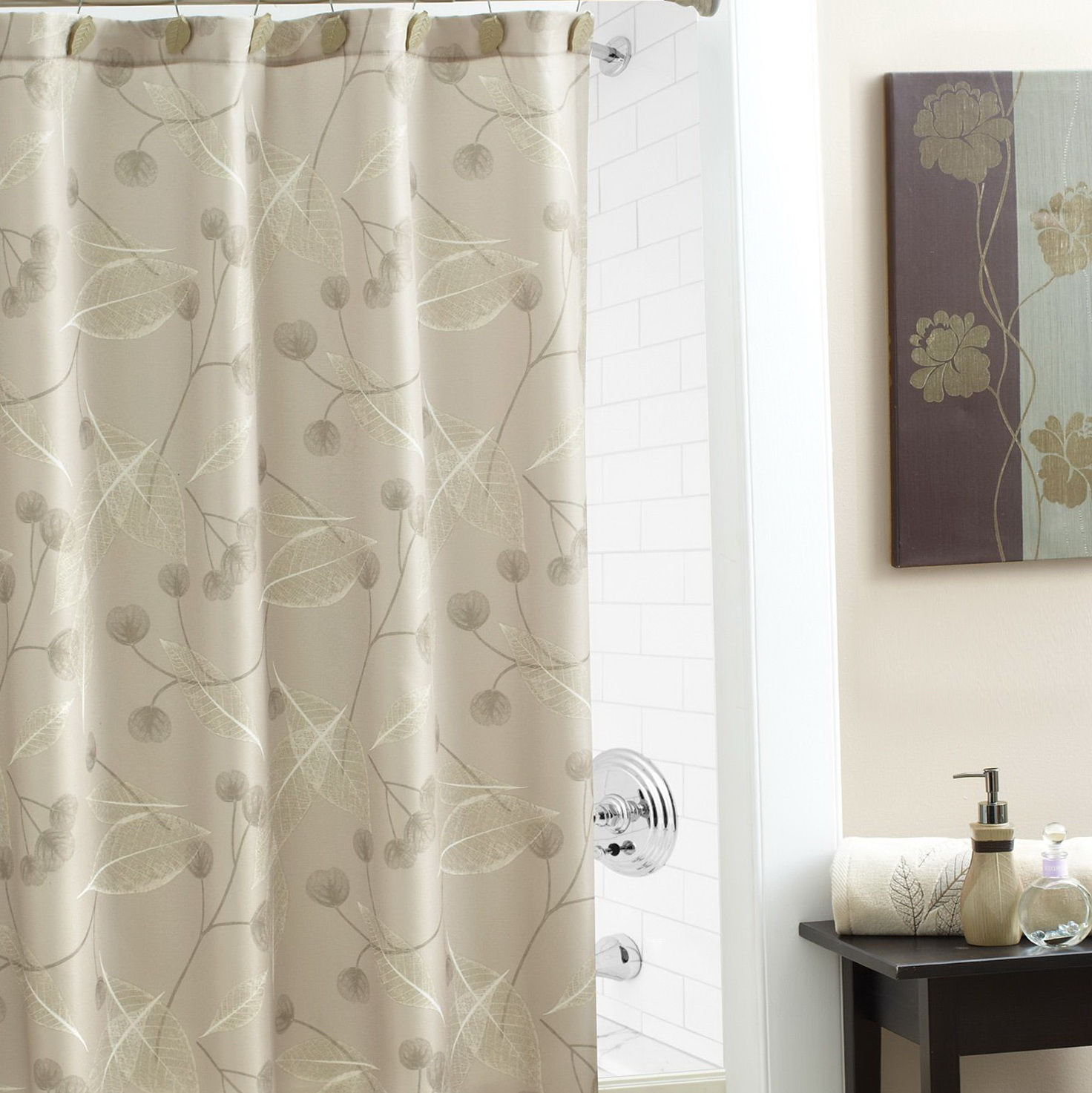 Elegant Shower Curtains With Valance Home Design Ideas