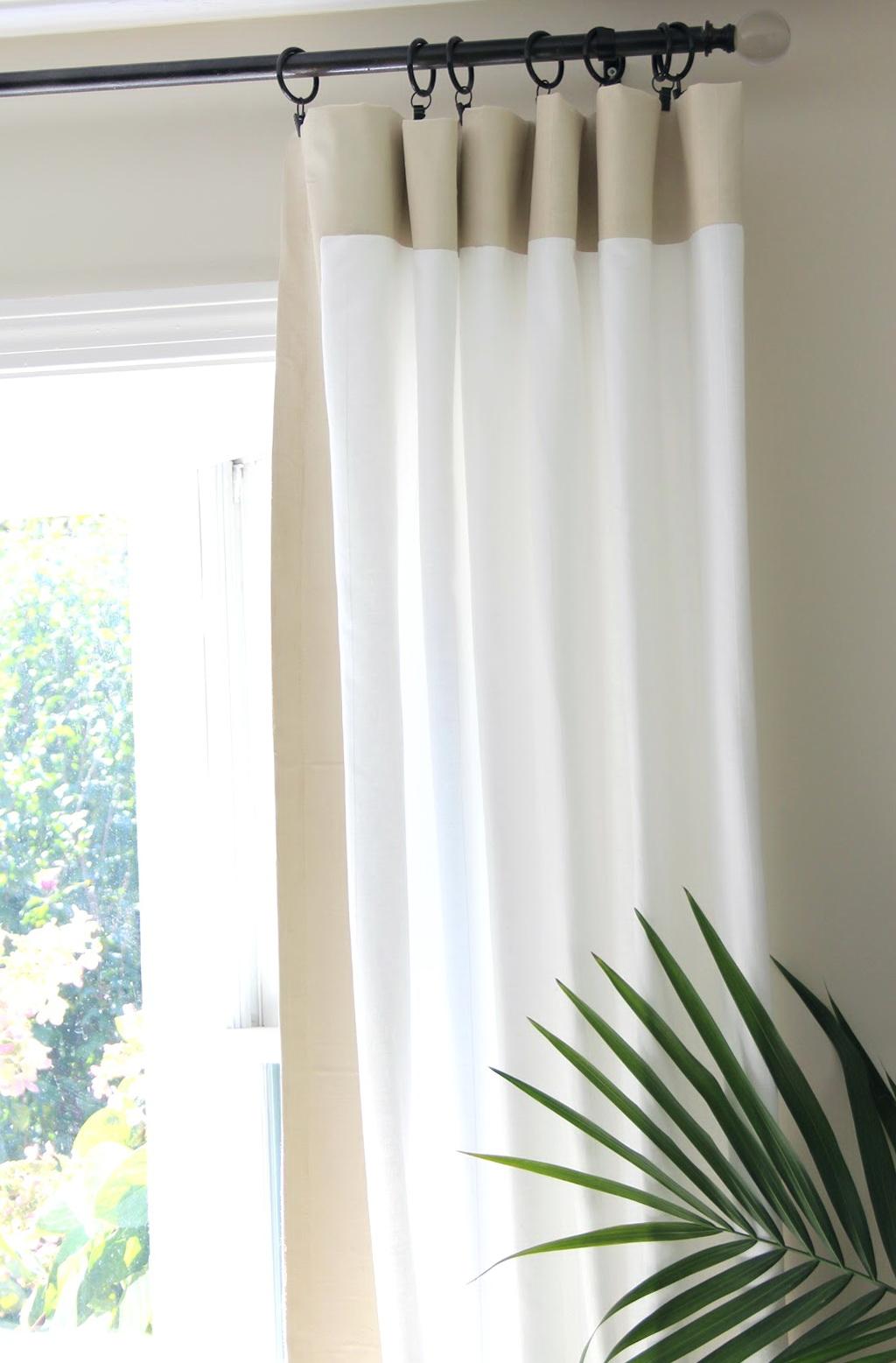 extra long curtain rods diy