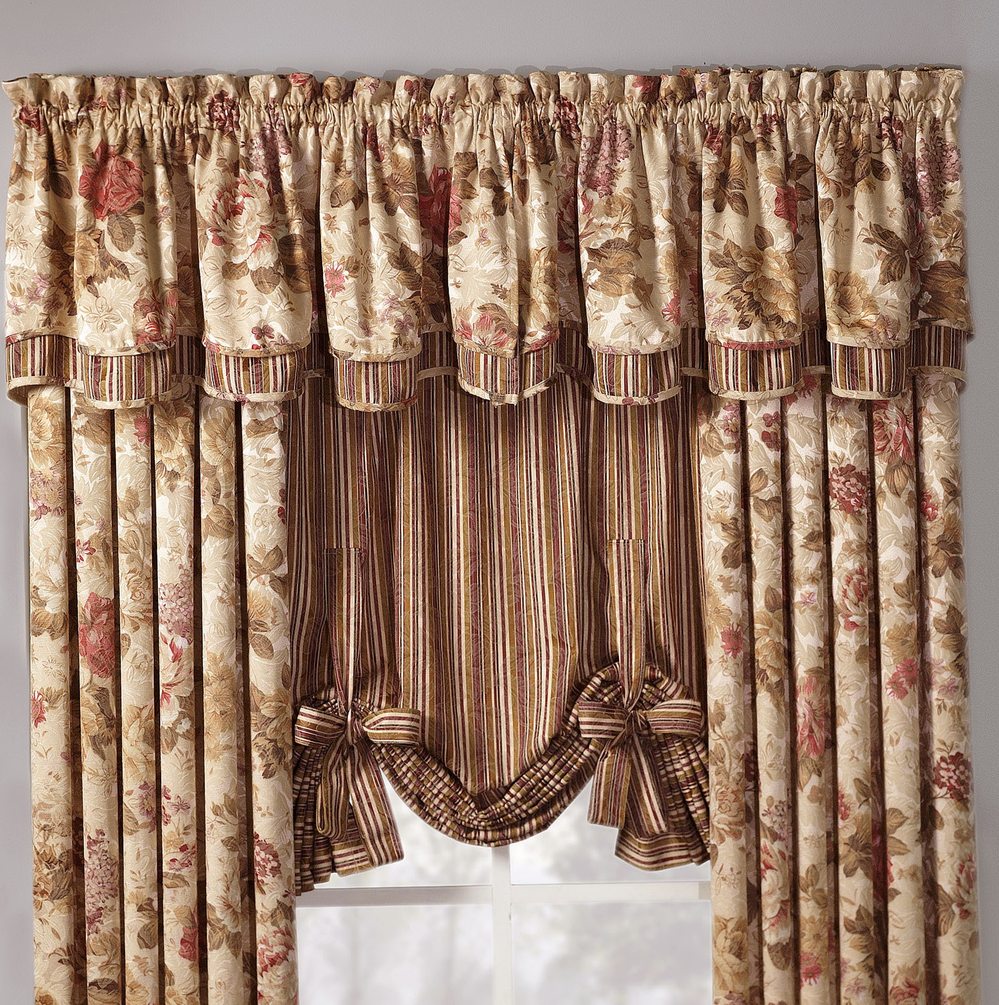 Fancy Shower Curtains With Valance Home Design Ideas