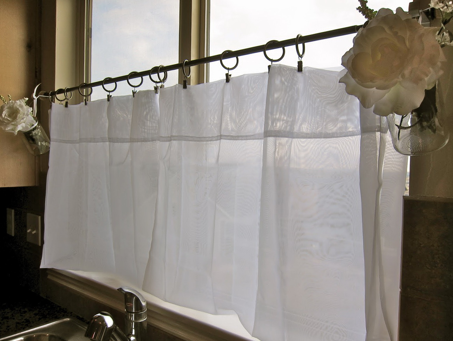 French Cafe Curtains For Kitchen