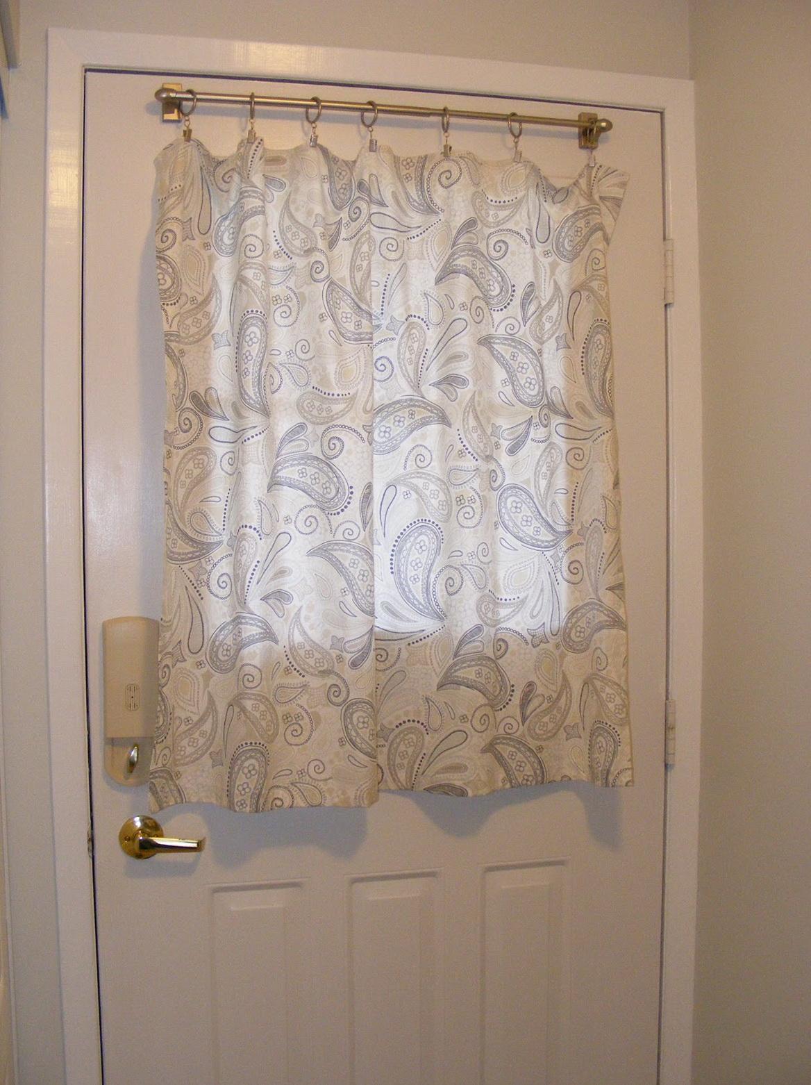 Front Door Curtains Ideas