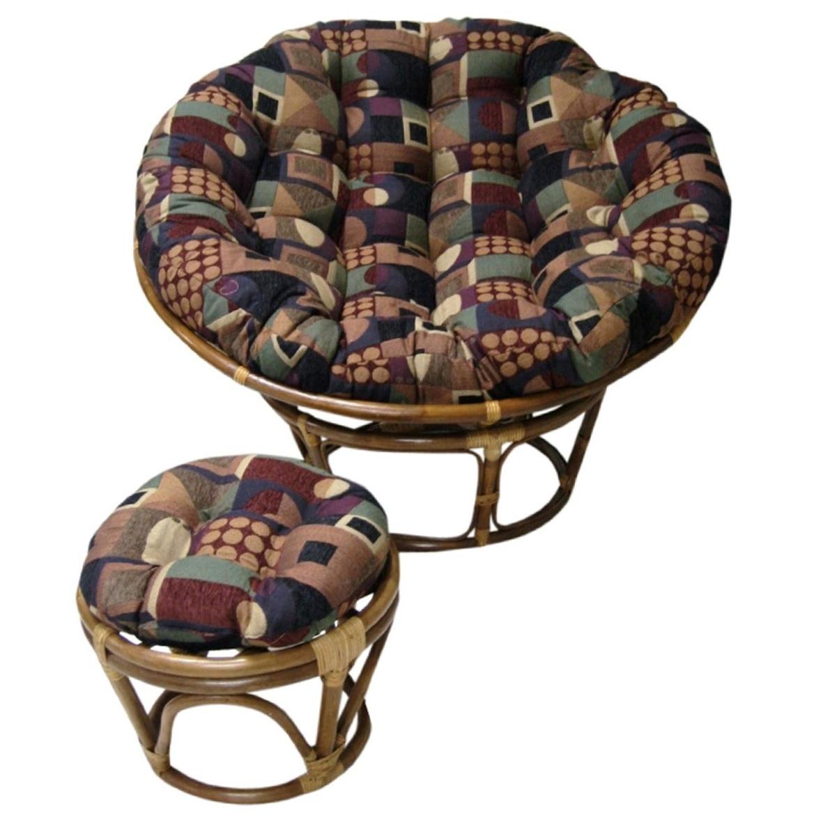 Fuzzy Papasan Chair Cushion Home Design Ideas