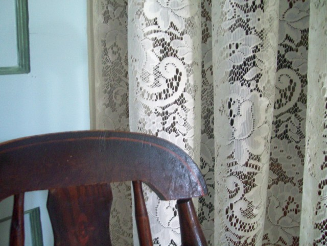 German Lace Curtain Panels