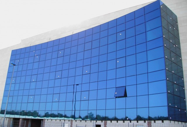 Glass Curtain Wall Detail At Floor