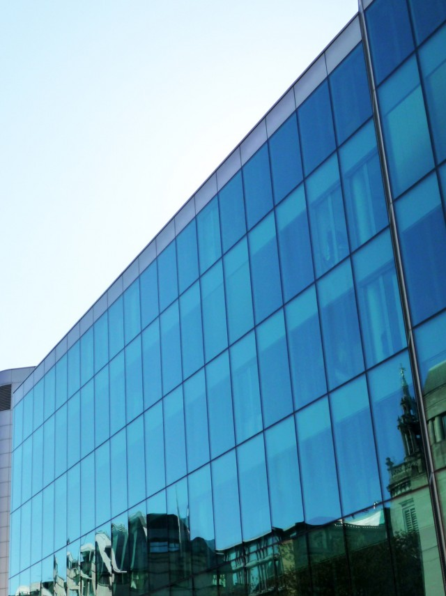 Glass Curtain Wall Elevation