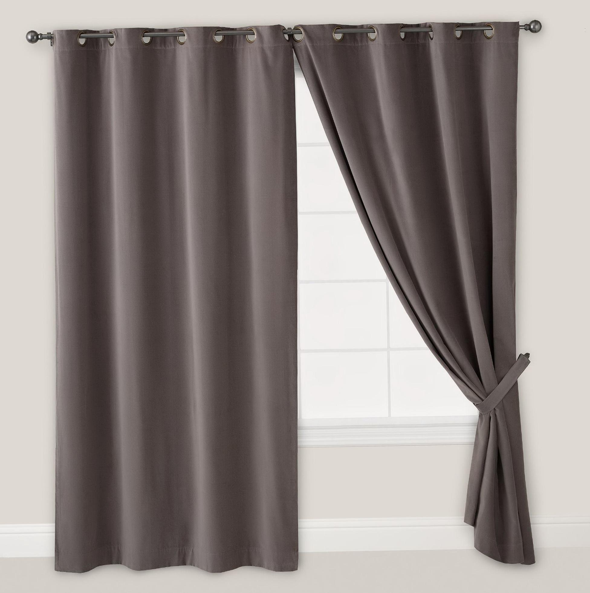 Grommet Top Curtains 108 Inch Home Design Ideas