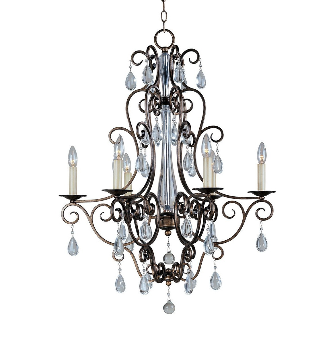 Hampton Bay Maria Theresa Chandelier