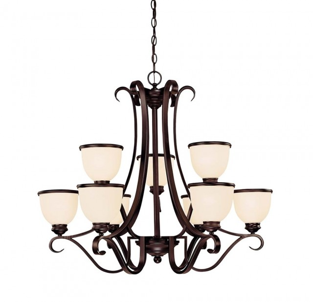 Hampton Bay Oil Rubbed Bronze Chandelier