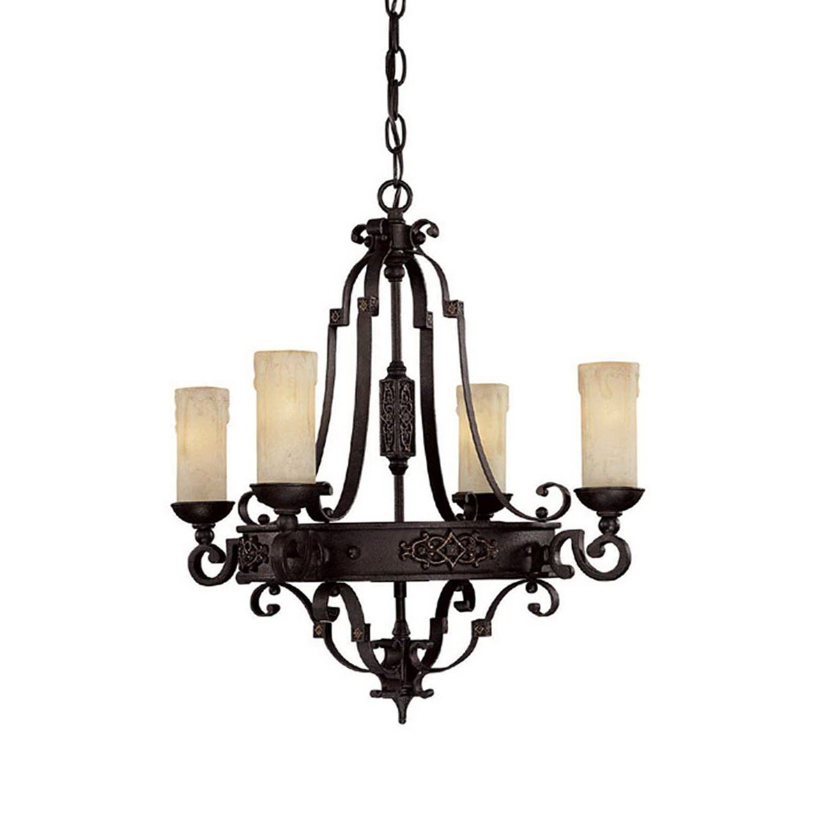 Hanging candle chandelier non electric home design ideas Hanging candle chandelier non electric