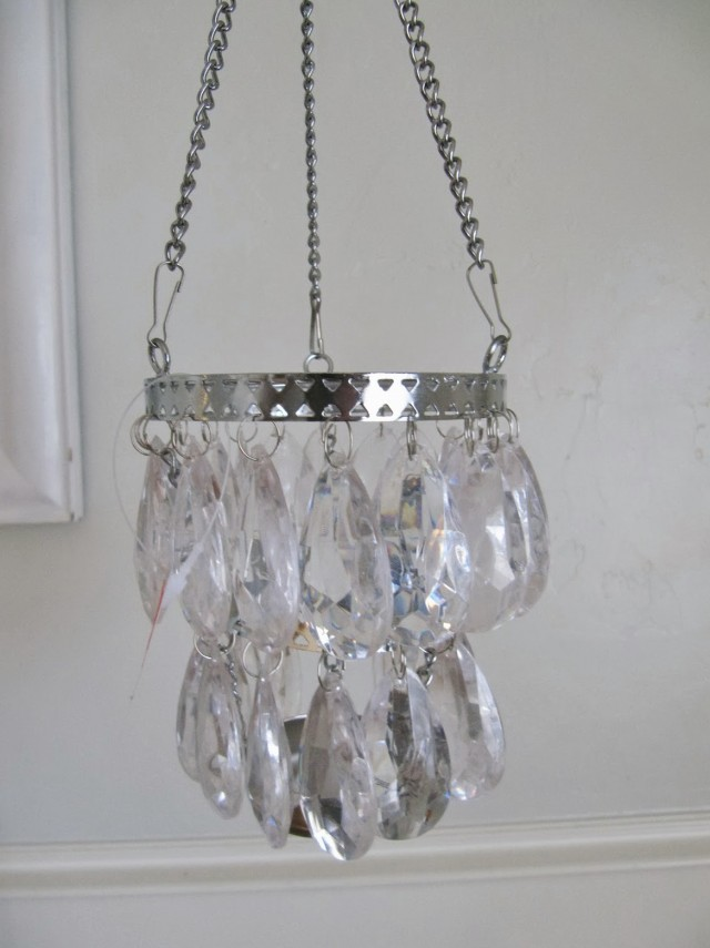 Hanging Tea Light Candle Chandelier