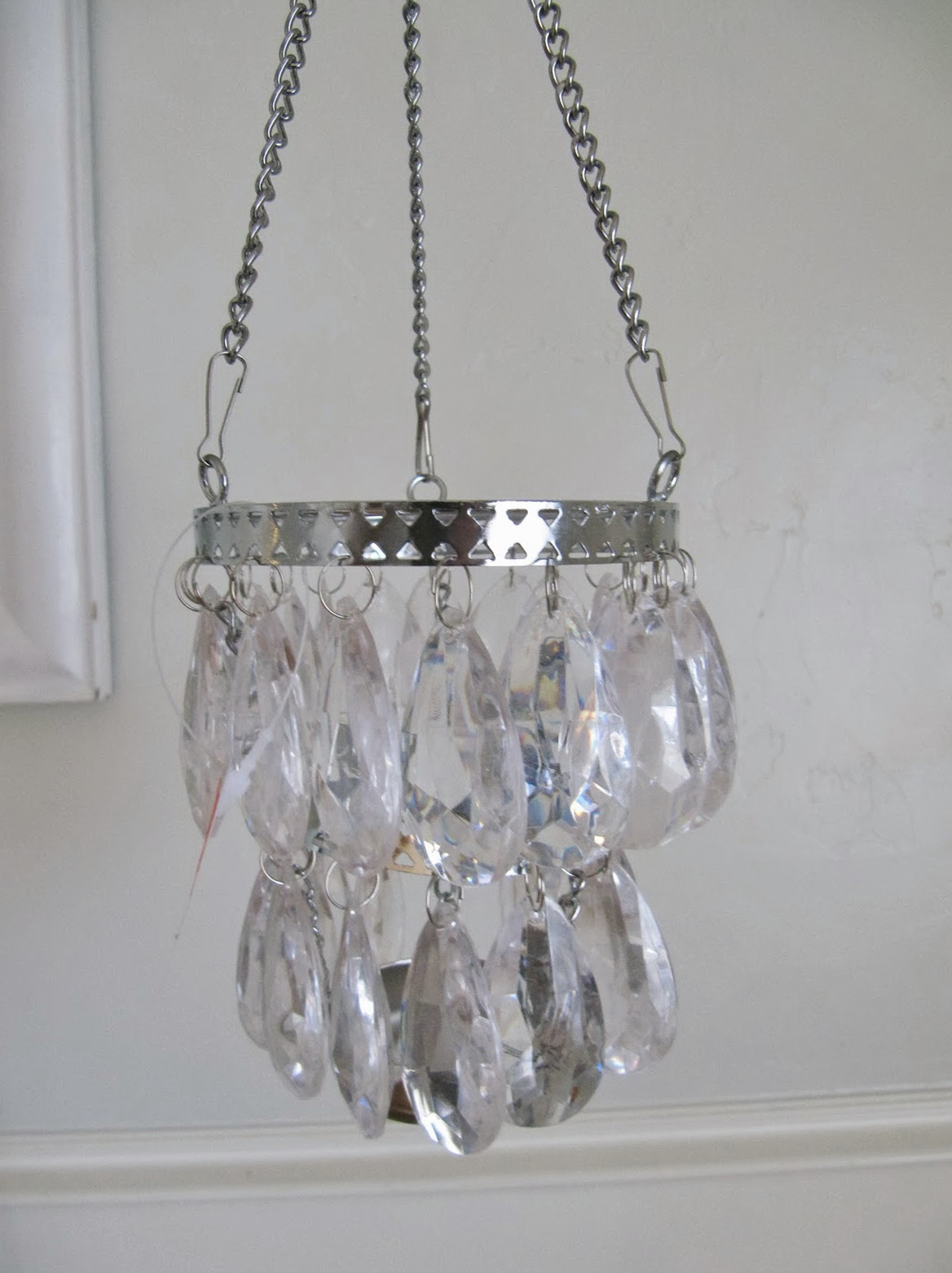 Hanging Tea Light Candle Chandelier