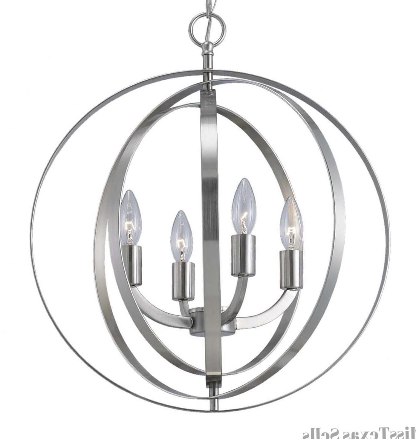 Home Depot Brushed Nickel Chandelier