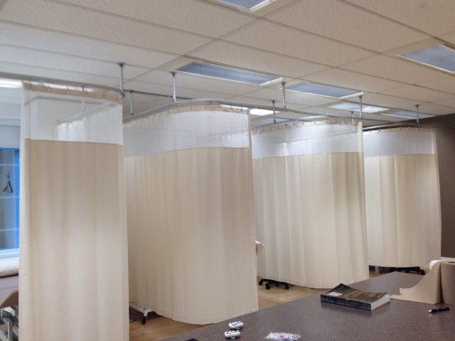 Hospital Curtain Track Systems