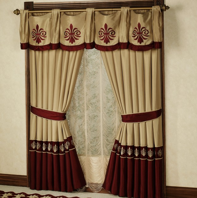 Kitchen Curtain Ideas South Africa: Primitive Curtains For Large Windows