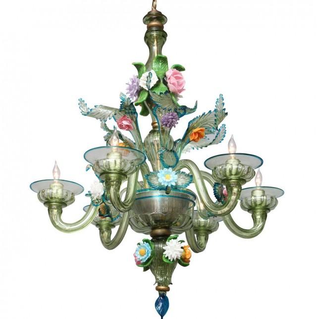 Italian Glass Chandeliers Murano