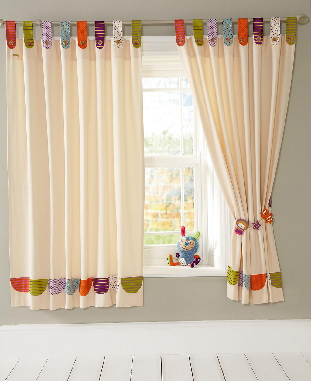 Kids curtains boys room home design ideas for Curtains for kids room