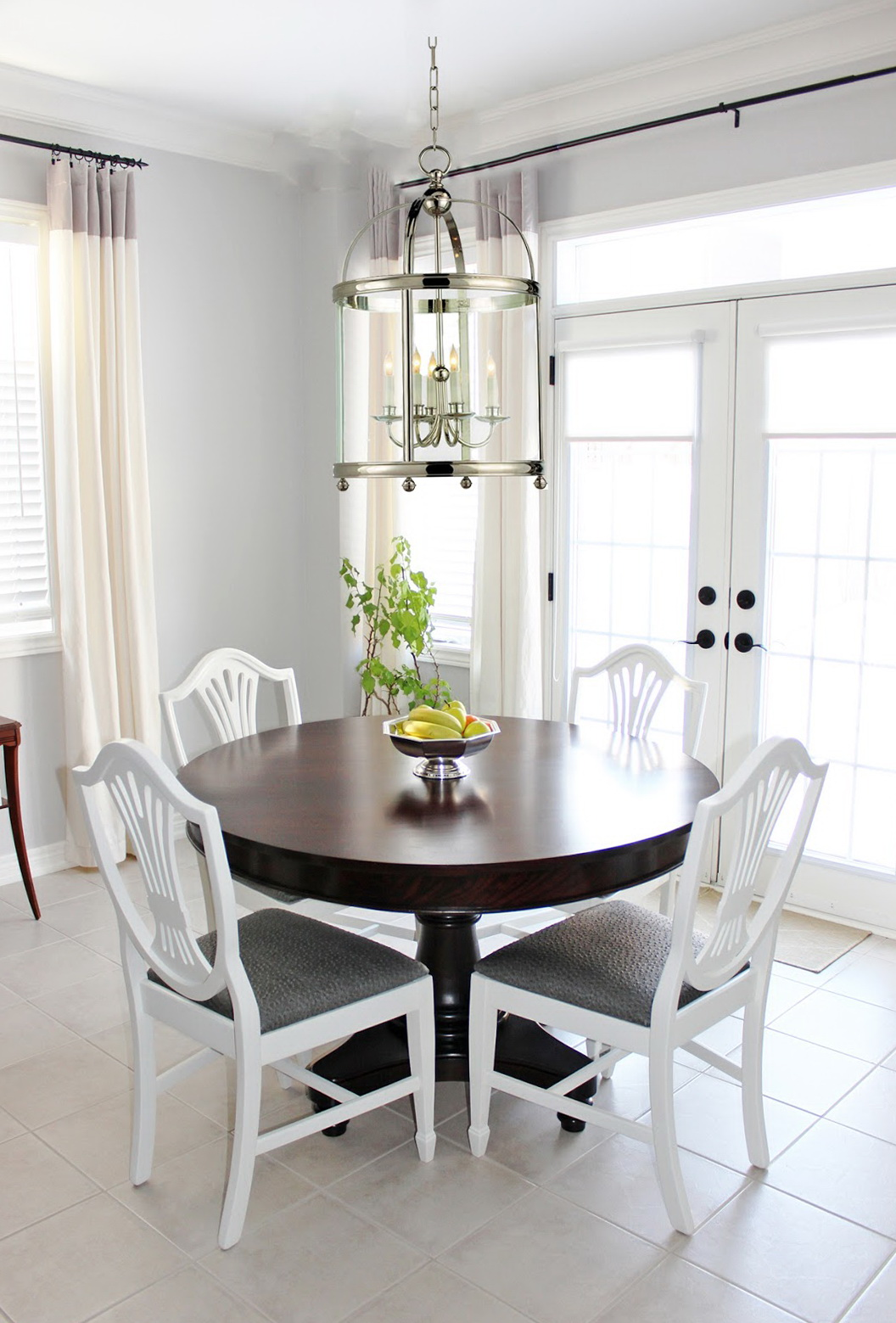 Lantern Chandelier Dining Room