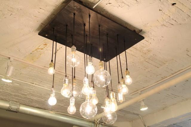 Light Bulb Chandelier Modern