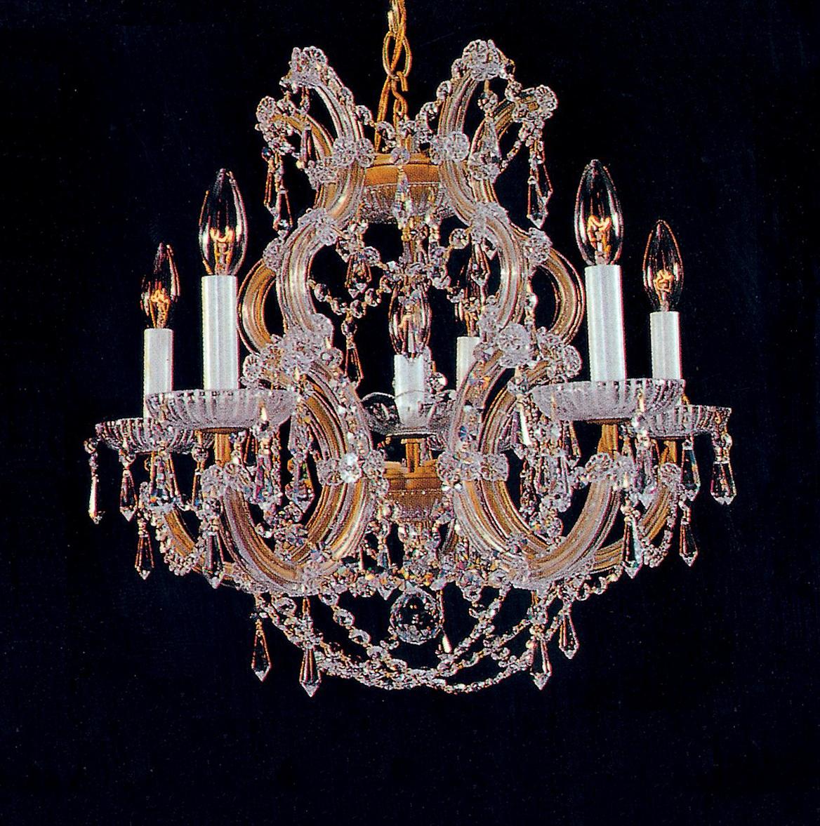Maria Theresa 6 Light Chandelier