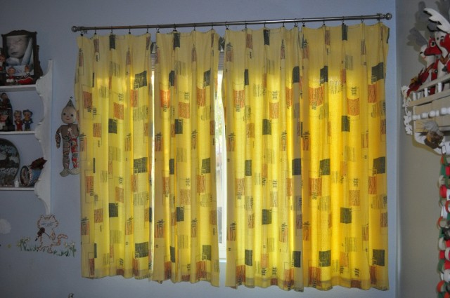Mid Century Modern Curtain Rods