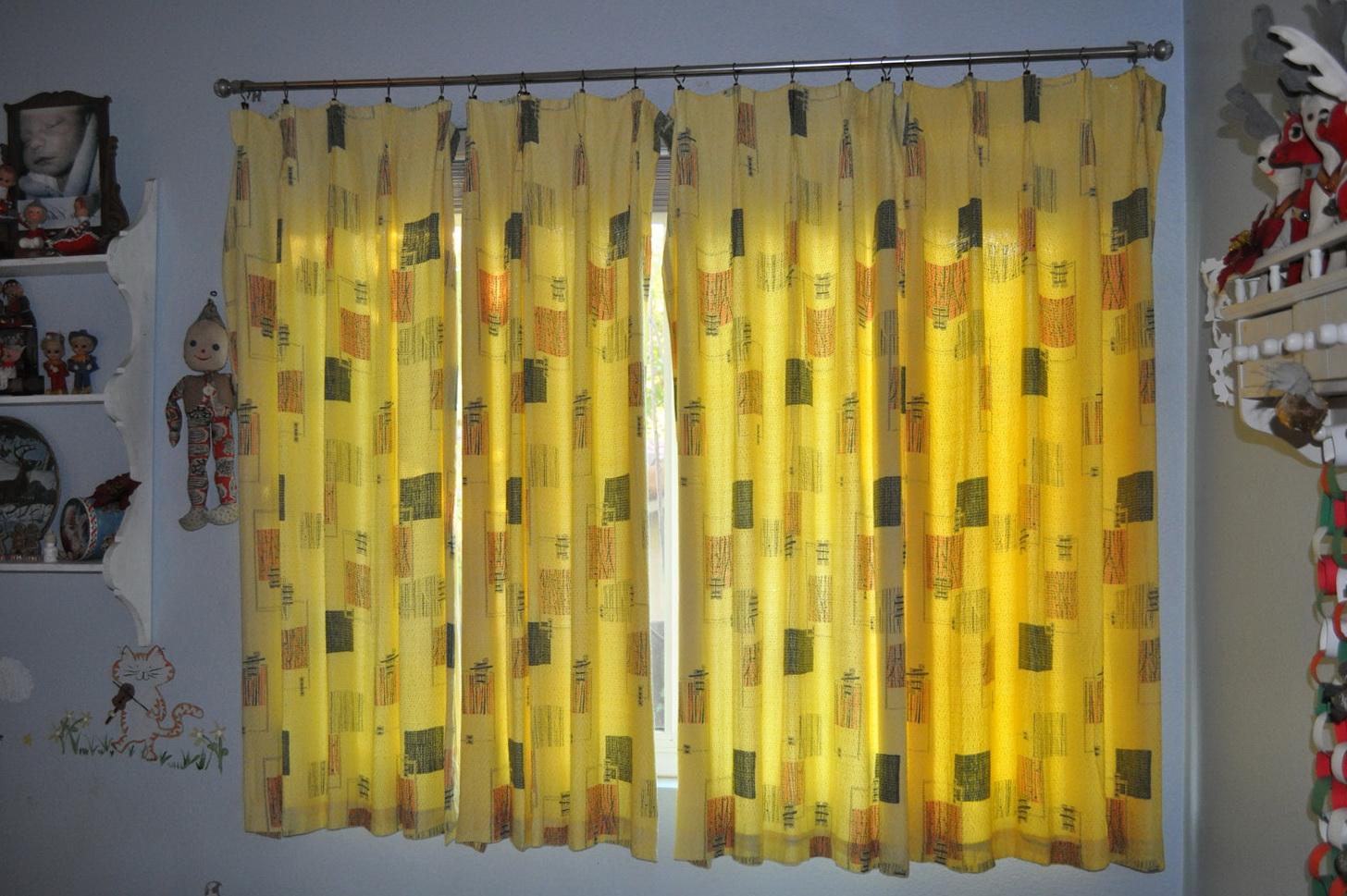 Mid Century Modern Curtain Rods Home Design Ideas