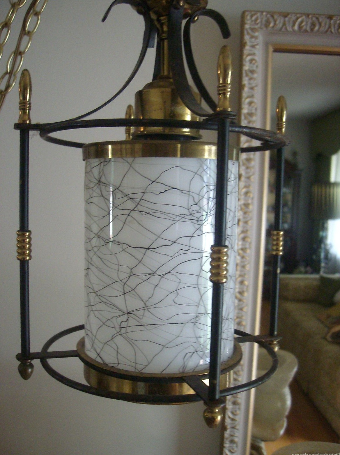 Mid century modern mobile chandelier 6 lt home design ideas - Mid century mobel ...