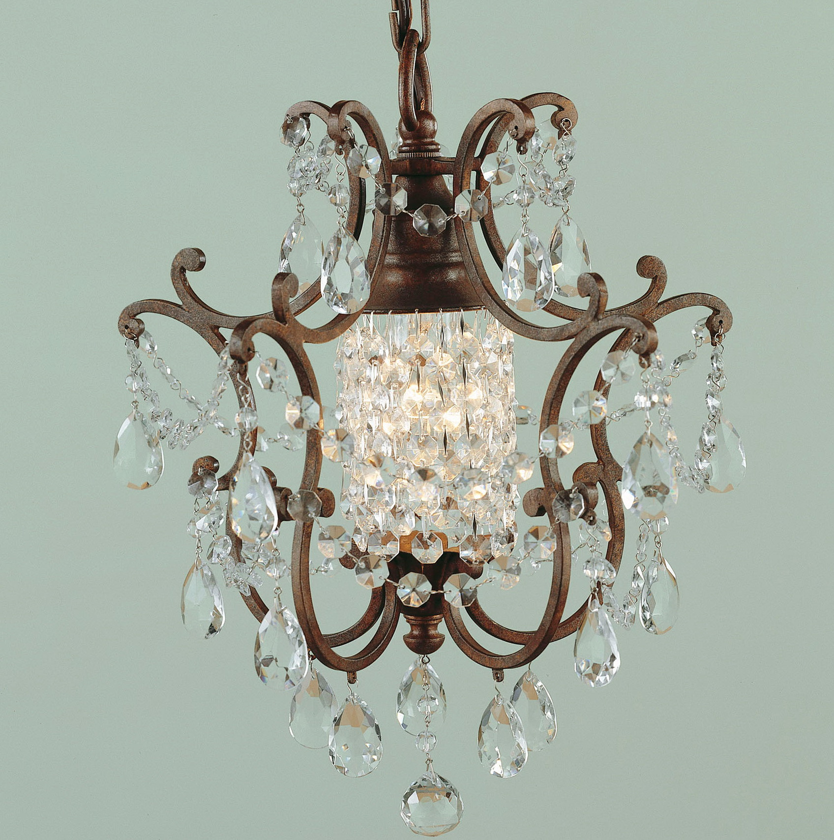 Mini Crystal Chandelier For Kitchen