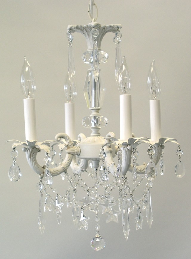 Mini Crystal Chandelier For Nursery