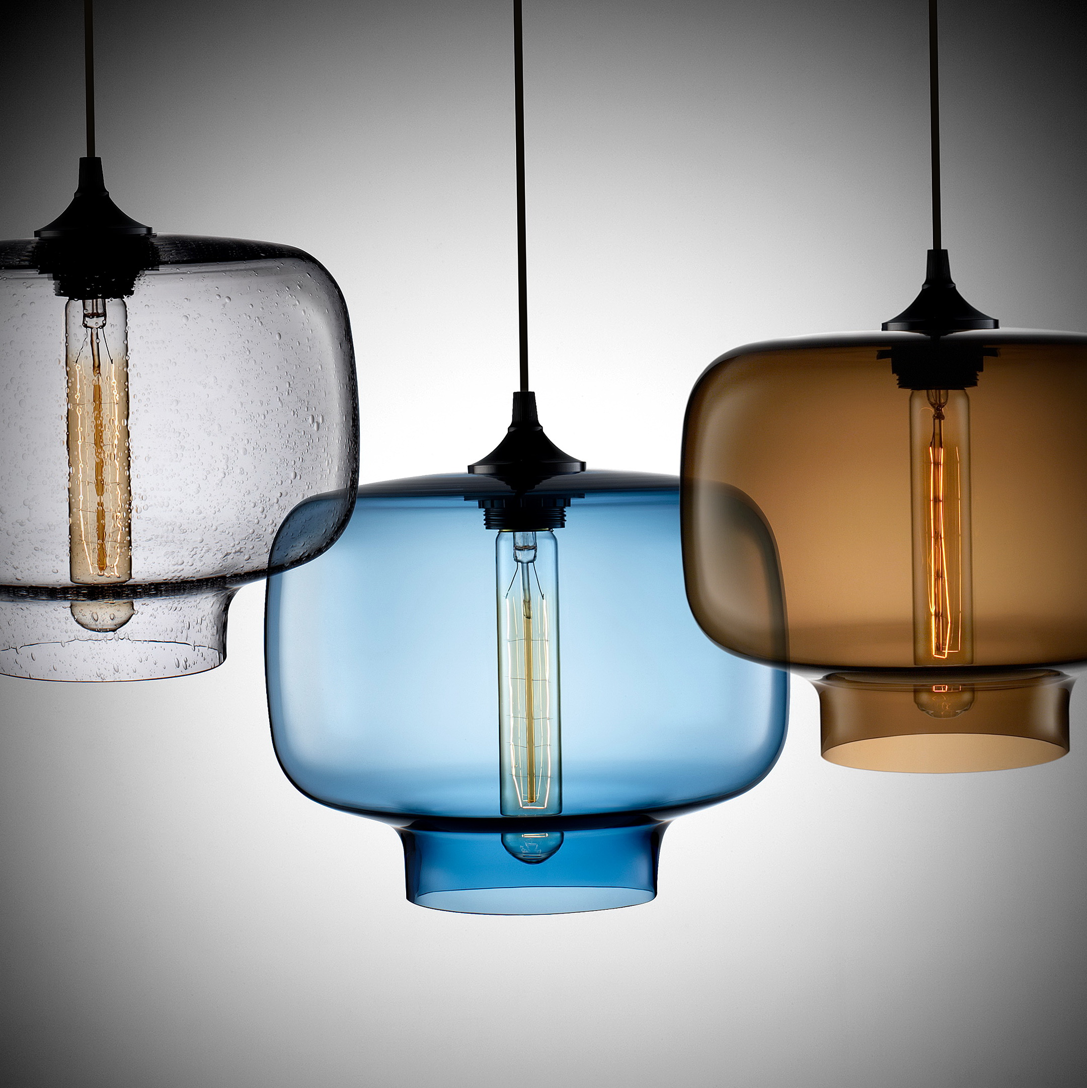 Modern Glass Chandelier Lighting