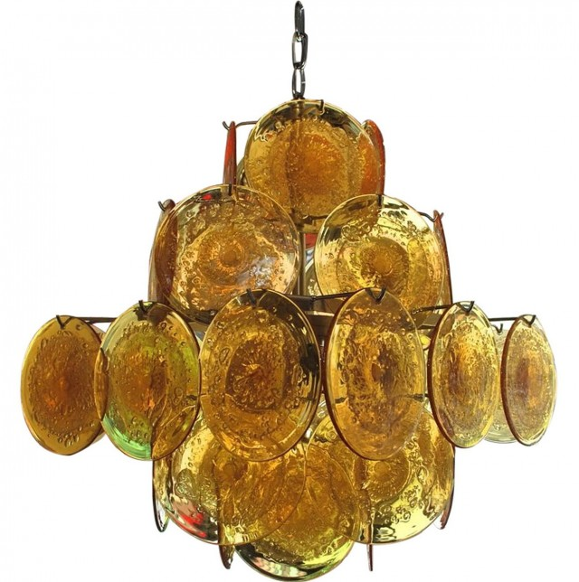 Murano Glass Chandelier Replica