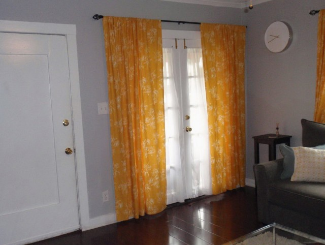 Mustard Yellow Curtain Panels