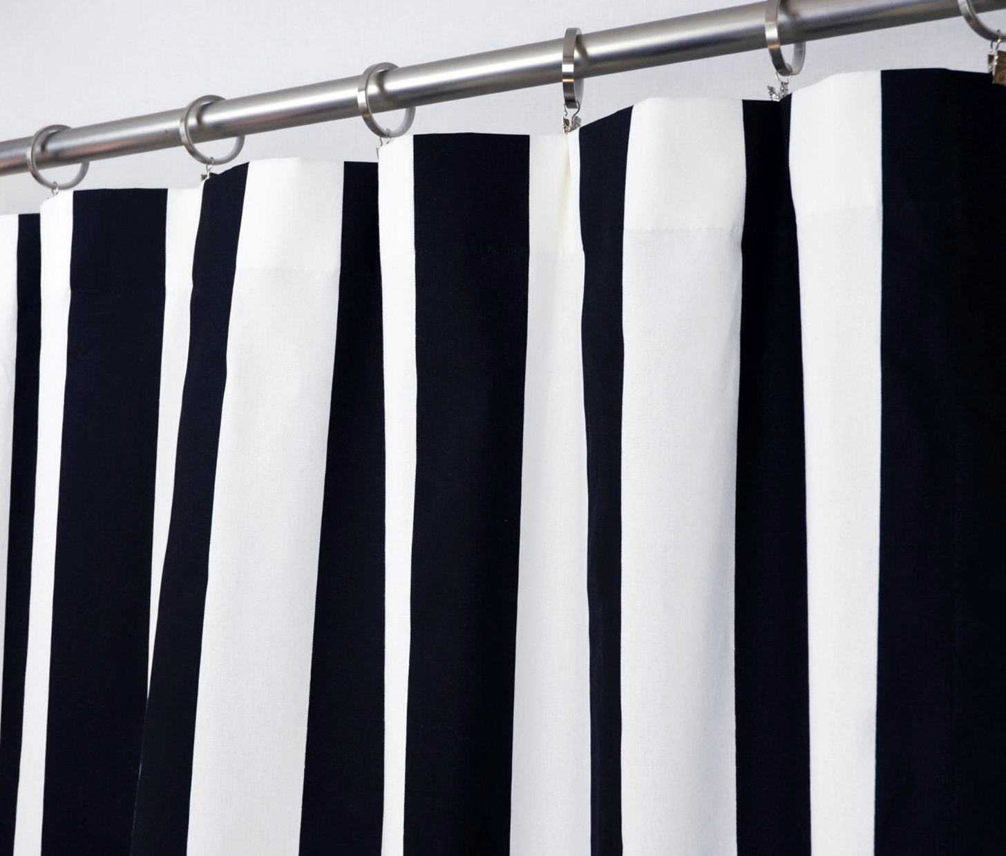 Navy And White Blackout Curtains