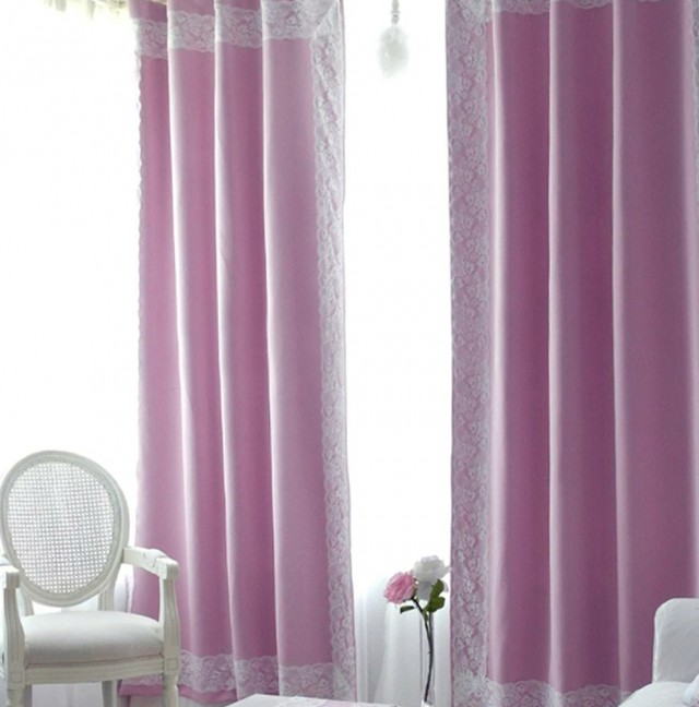 Nursery Blackout Curtains Pink