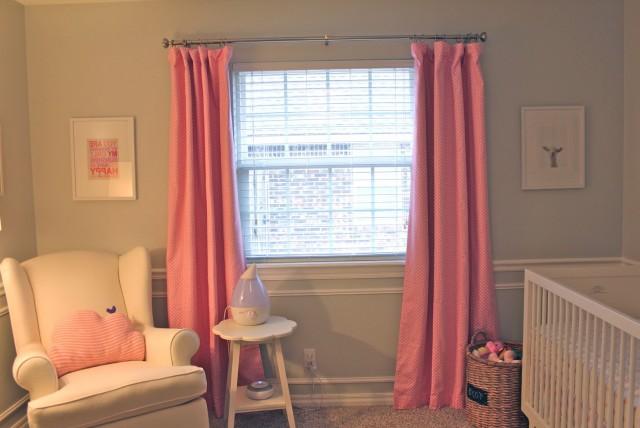 Nursery Blackout Curtains Target
