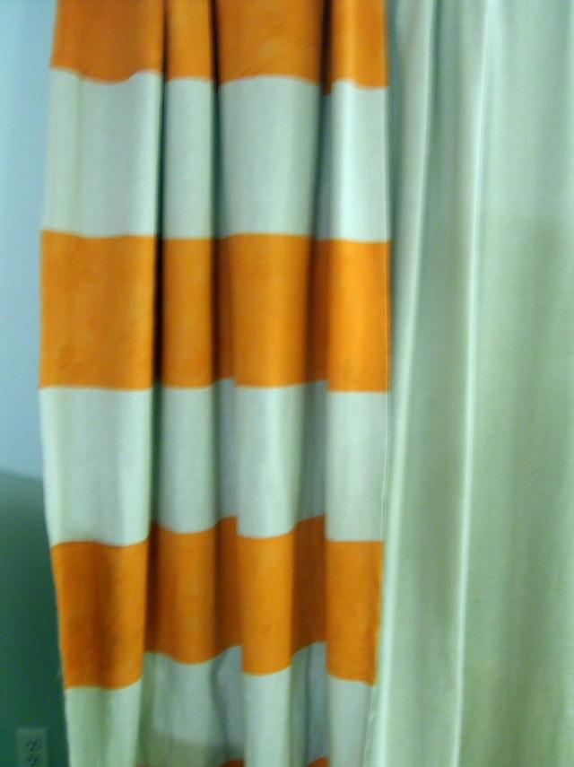 Orange Curtain Panels Ikea