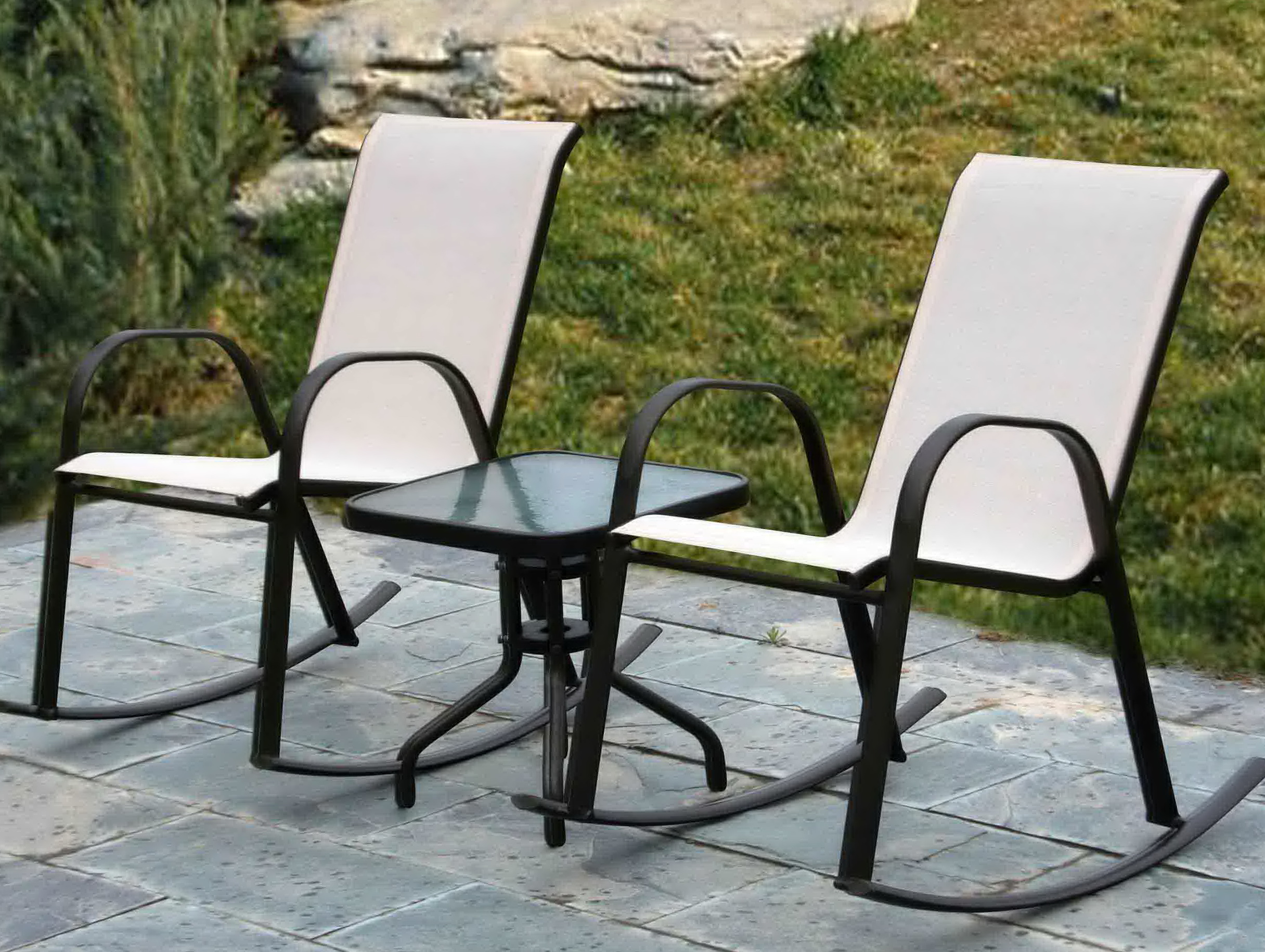 Outdoor Furniture Without Cushions