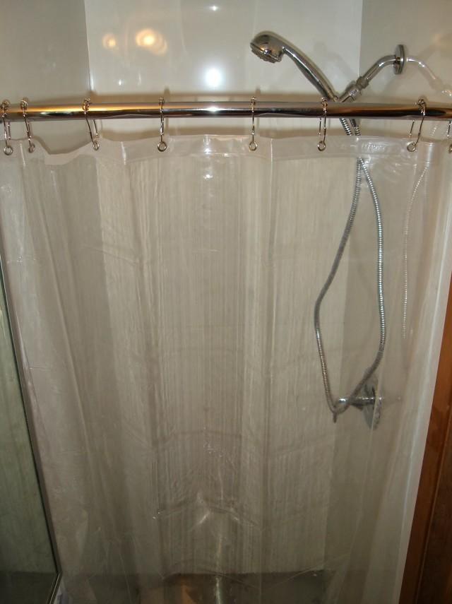 Circle shower curtain rod 2