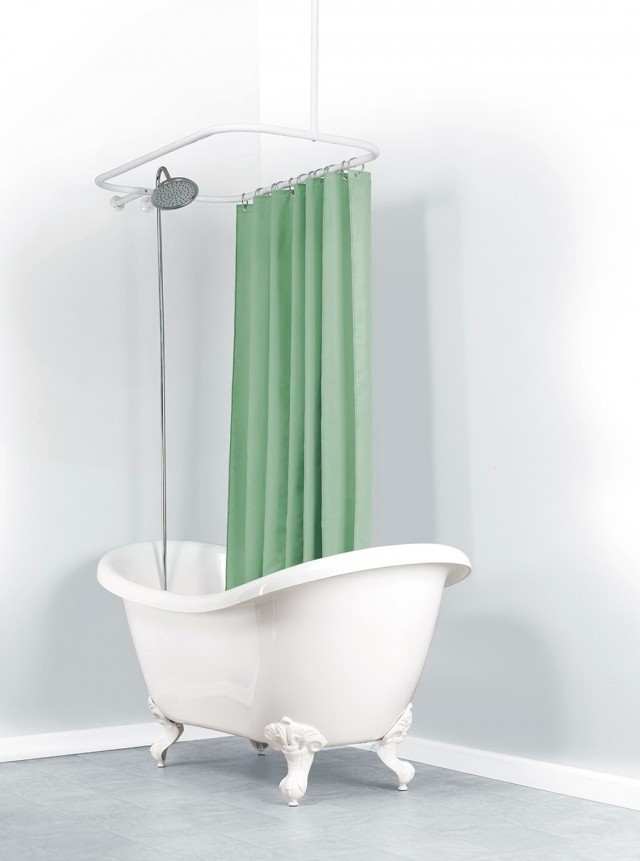 Oval Shower Curtain Rod Canada