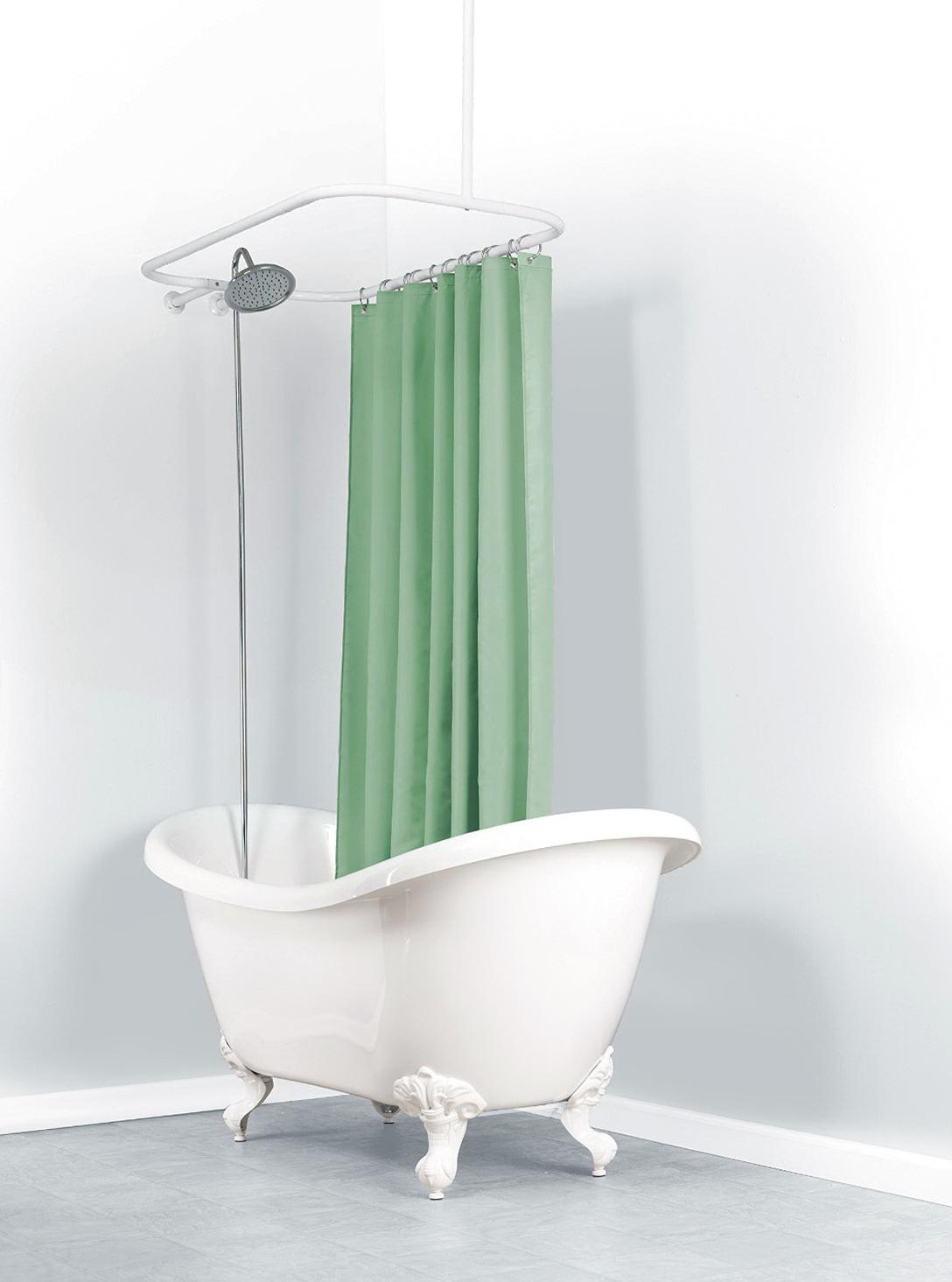 Oval Shower Curtain Rod Canada Home Design Ideas