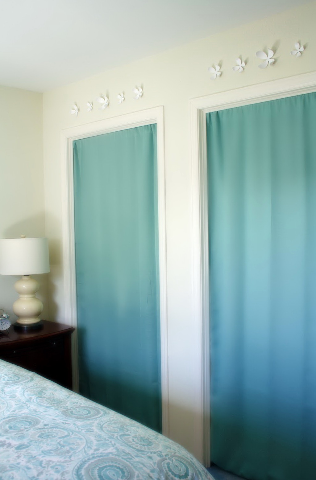 Panel Curtain Closet Door Home Design Ideas