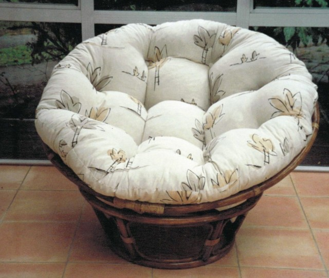 Papasan Chair Cushion Cover