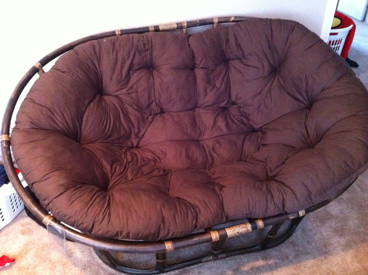 Papasan Swivel Rocker Chair Cushion Home Design Ideas